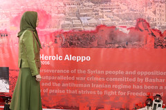 Maryam Rajavi Paying homage to the martyrs of nine war-torn cities of Syria2