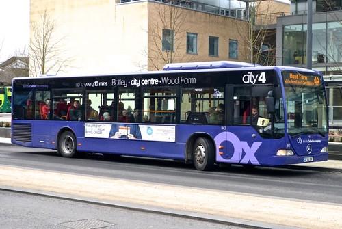 DF55 OXF 'Oxford Bus Company' 842 Mercedes-Benz Citaro on Dennis Basford's 'railsroadsrunways.blogspot.co.uk'