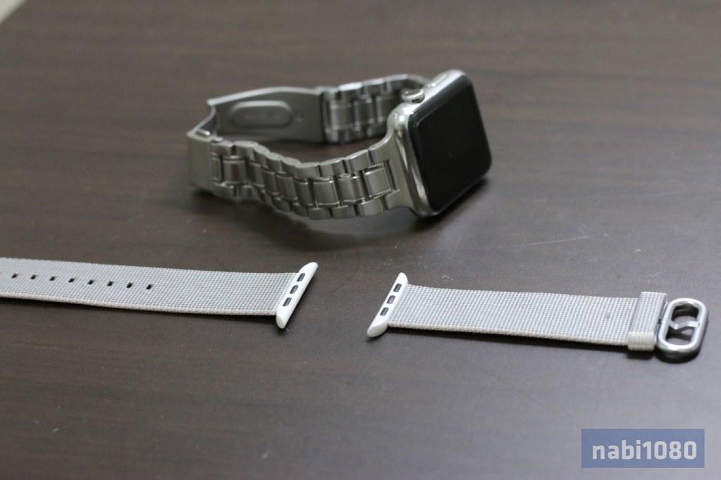 Apple Watch ウーブンナイロンバンド06