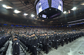 Image of Madison Square Garden near City of Hoboken. mtapd mtapolice mtapolicedepartment