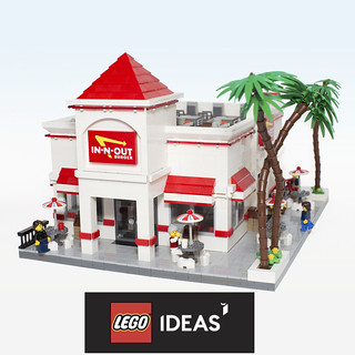 Lego Ideas: IN-N-OUT Burger