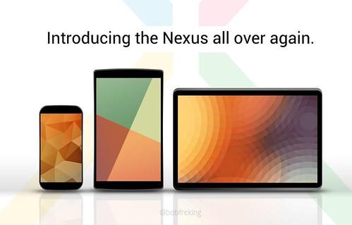 Nexus 5, Nexus 11 и Nexus 8