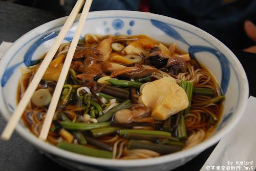 蔬菜野菇涼湯麵(2)
