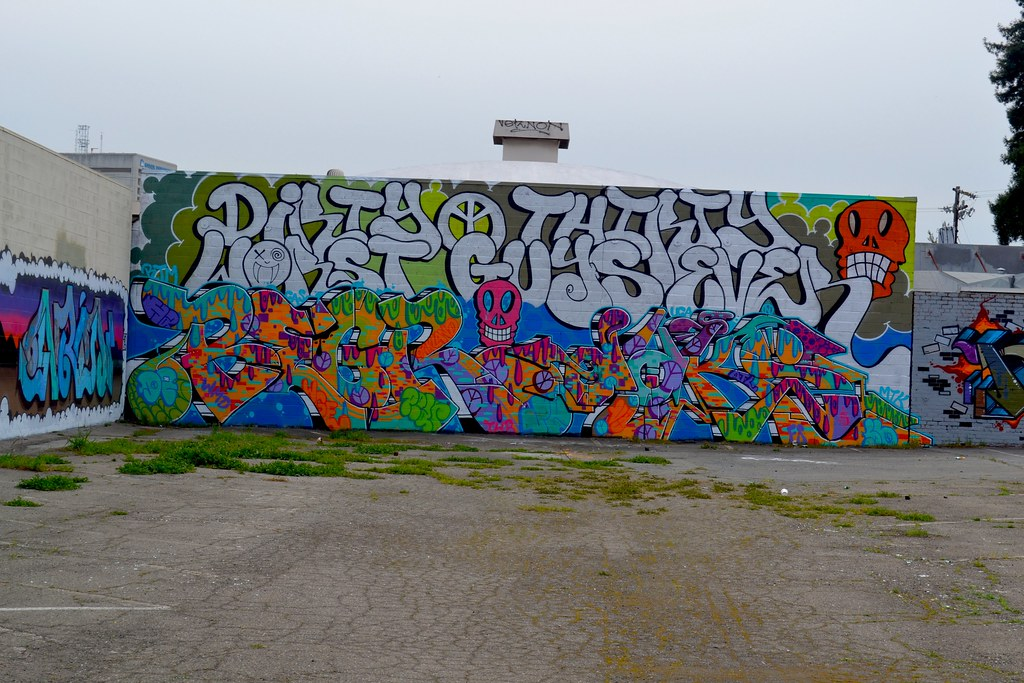 BEGR, DAKS, D30, Graffiti, Oakland, Dirty Thirty