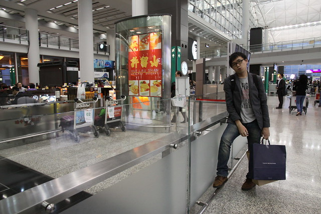 香港機場 許留山