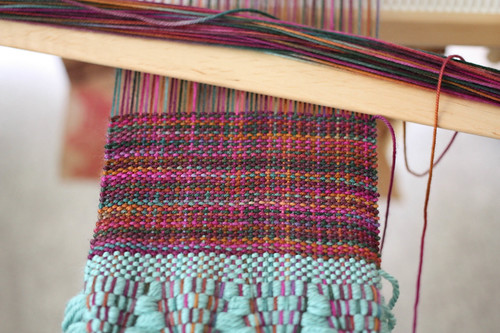 Another WIP – Woven Scarf #2