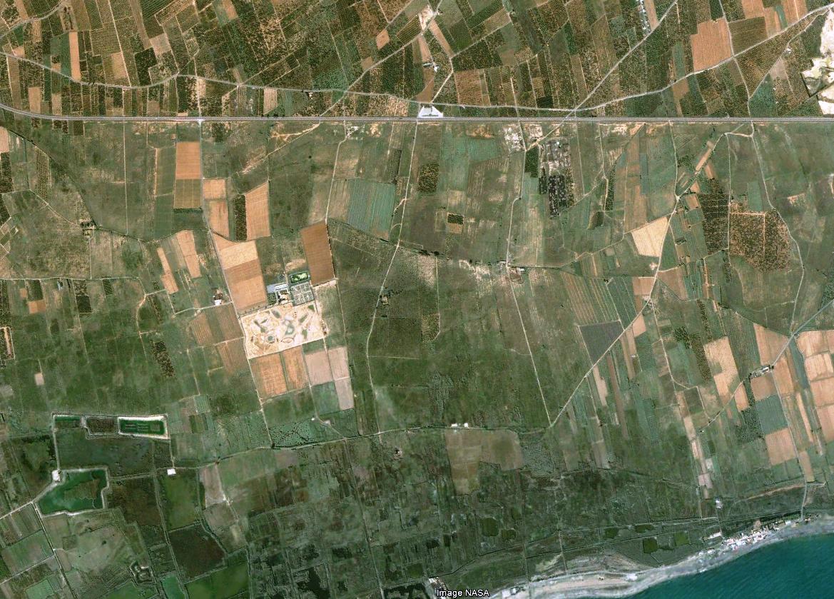 urbanismo, grau vell, antes, crecimiento, puerto, 2002, vista aérea