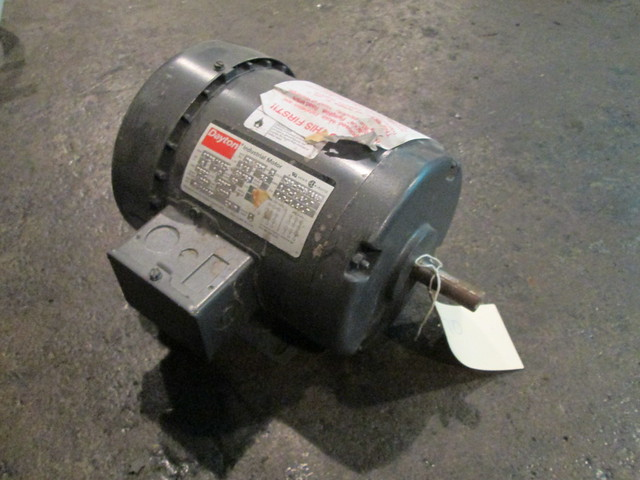 1 4 Hp Dayton Electric Motor 1725 1425 Rpm Tefc Flickr