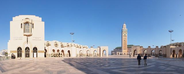 HASSAN II清真寺全景