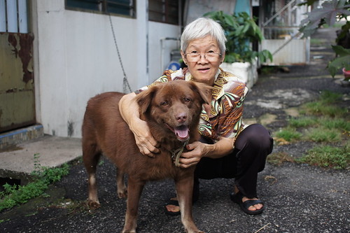 Mom with Koko by lcw:)