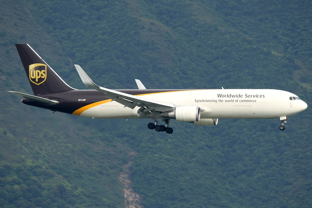 N312UP - B763 - UPS Airlines