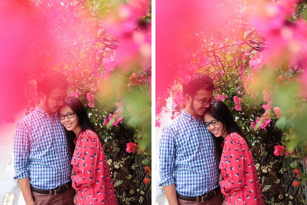 Zahirah + irman-050