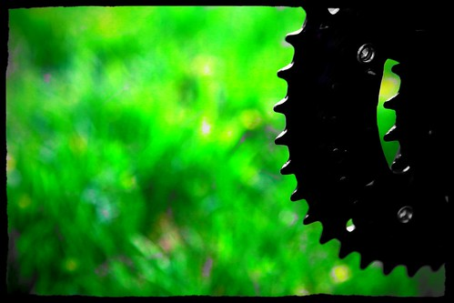 Gears on Grass by John Diogenous