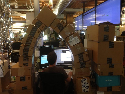 Today at work we engineered an arch | by edrabbit