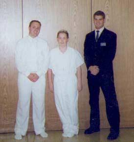 Elder Müller, Kyle and Elder Andersen