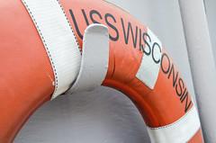 USS Wisconsin lifesaver