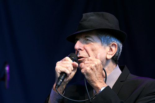 Leonard Cohen by Elfworld