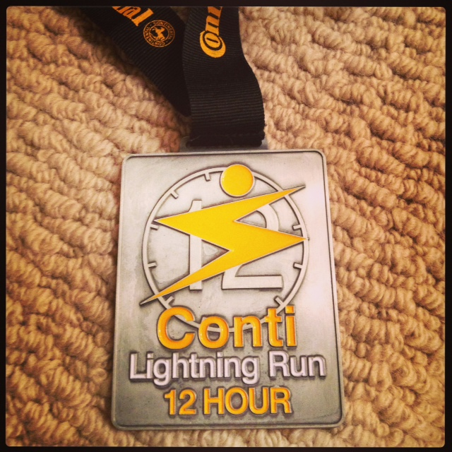 Conti Lightning Run Medal