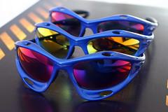 d28fe0a650 Blue Oakley Racing jacket + red iridium
