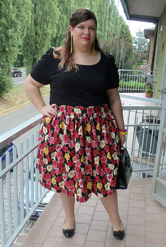 outfit nero e rose3