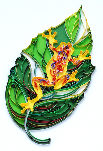 quilled frog