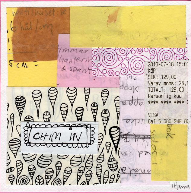 Collage: Taking Notes 6
