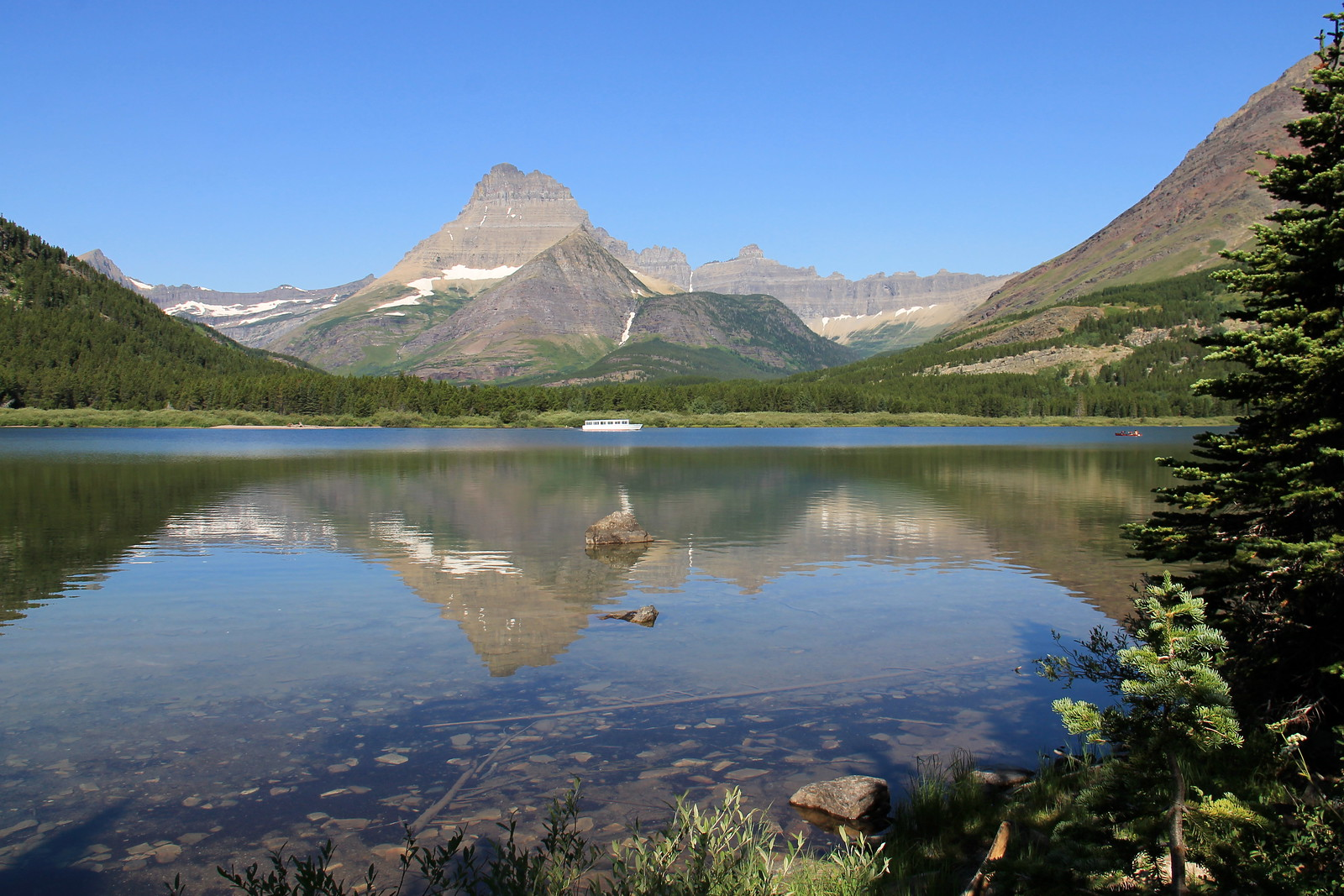 Grinnell Lake hike, Glacier National Park