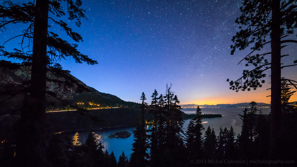 Twilight, Emerald Bay