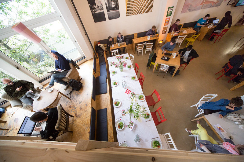 Coworking-Spaces im Test: Das Betahaus in Berlin-Kreuzberg {Review} Betahaus