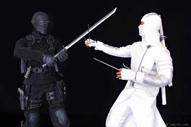 Snake Eyes vs Storm Shadow