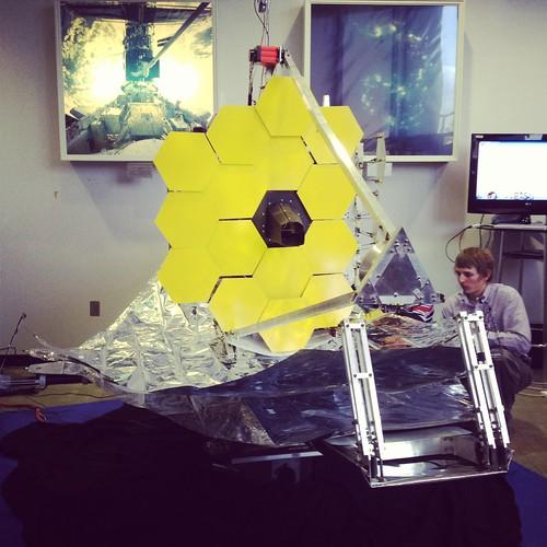 James Webb Space Telescope 1/6 engineering model