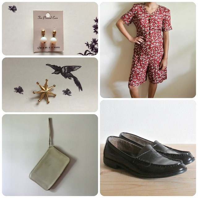 How to Wear Vintage • Romp Around the Clock + Let's Make Habits Weeks 2 and 3!