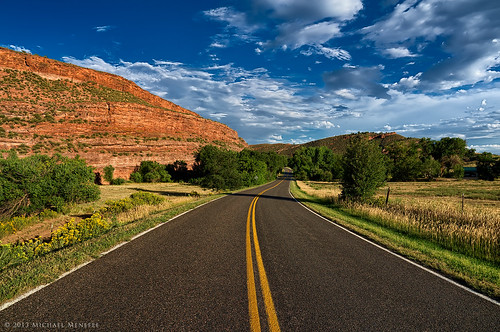 road red nature lines rural landscape vanishingpoint highway colorado rocks co pathway buckhorn larimer bluehighways clff