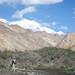 Audrey Admires Mountain View - Markha Valley Trek, Ladakh, India