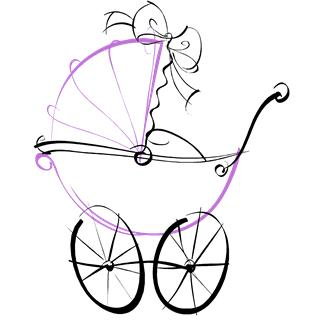 Sketch of a Baby Stroller