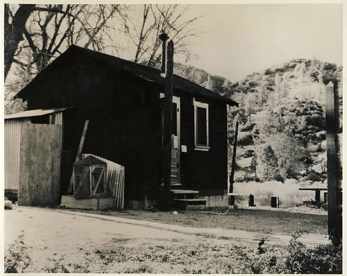 Thorn Meadow Guard Station, 1950s