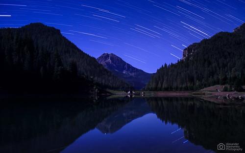 autumn sky fall night stars landscape utah movement ut nightscape trails september nightsky startrails aftersunset 2013 tibbleforkreservoir