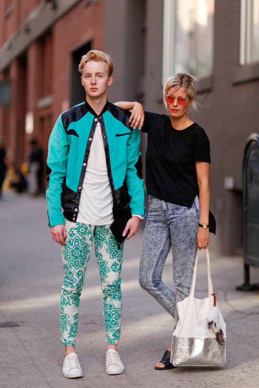 duo_ss14 MadeFW, NYC, NYFW, W. 15th Street, men, women, street fashion, street style, Quick Shots