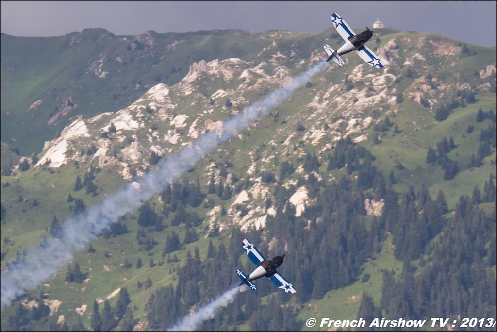 Patrouille Cap Tens, Cap 10,Fete de l'air,Courchevel Saut à Ski 2013