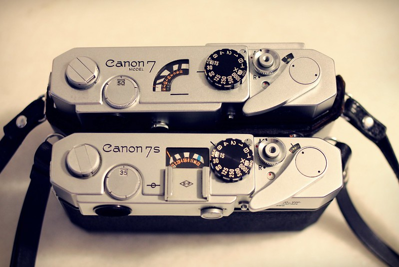 Canon 7 and 7s