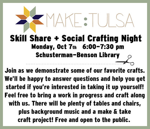 Make:Tulsa Skill Share