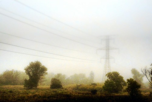 autumn fall weather fog wisconsin day powerlines brookfield waukesha nikond90