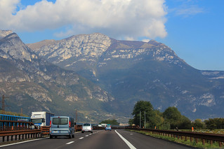 Travelling to the Dolomites