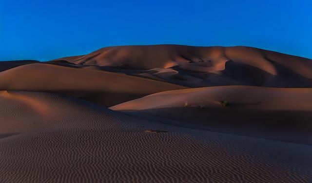 Saharan Dusk