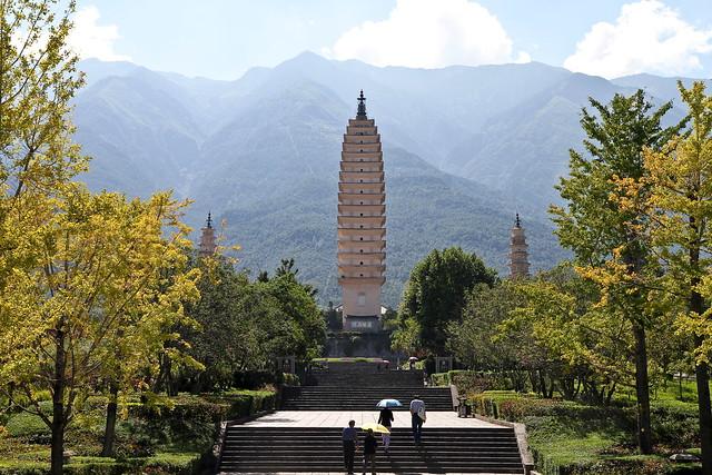 Tang Dynasty Three Pagodas