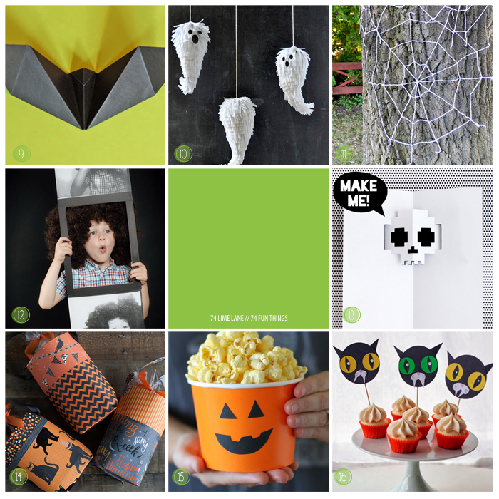 74 fun things // halloween edition