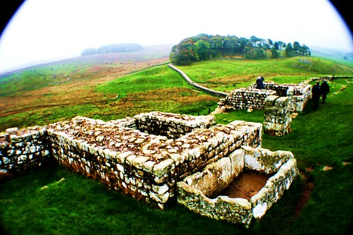 Housesteads Roman Fort on Hadrian's Wall