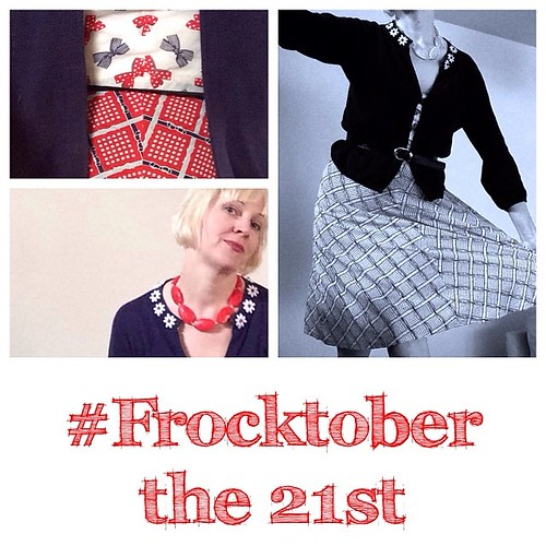 Woooo #frocktober the 21st and some lovely donors sponsored me today! 10 frocks to go https://frocktober.everydayhero.com/au/wonderwebby