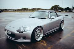 automobile(1.0), automotive exterior(1.0), wheel(1.0), vehicle(1.0), performance car(1.0), automotive design(1.0), rim(1.0), honda(1.0), honda s2000(1.0), bumper(1.0), land vehicle(1.0), coupã©(1.0), sports car(1.0),