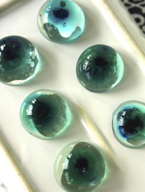 White Grape Jellies & Halloween Eyeballs